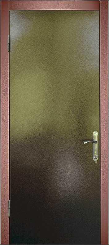Двери с порошковой покраской